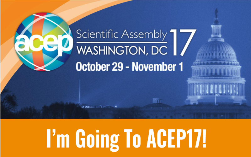 Will We See You at ACEP17?