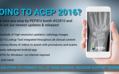 Visit Us at the ACEP 2016 Scientific Assembly